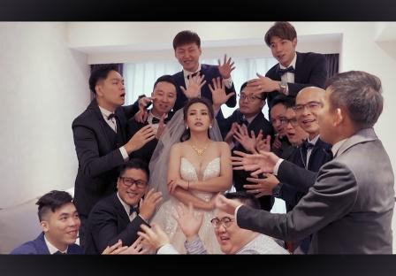 《台北婚錄》用愛將老婆奉為天后 / 萬豪酒店