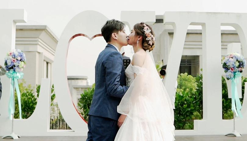 《台中婚錄》這吻,滿是幸福的滋味 / 清新溫泉飯店 / SDE快剪快播