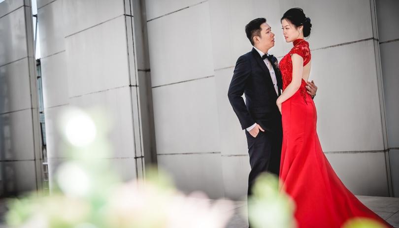 《新北婚攝》 愛,要擁在懷裡最甜 / 新莊晶宴