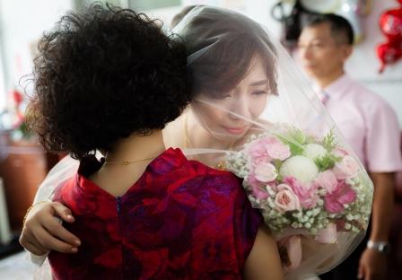 《彰化婚攝》有種不捨的擁抱叫牽掛 / 彰化玉皇宮