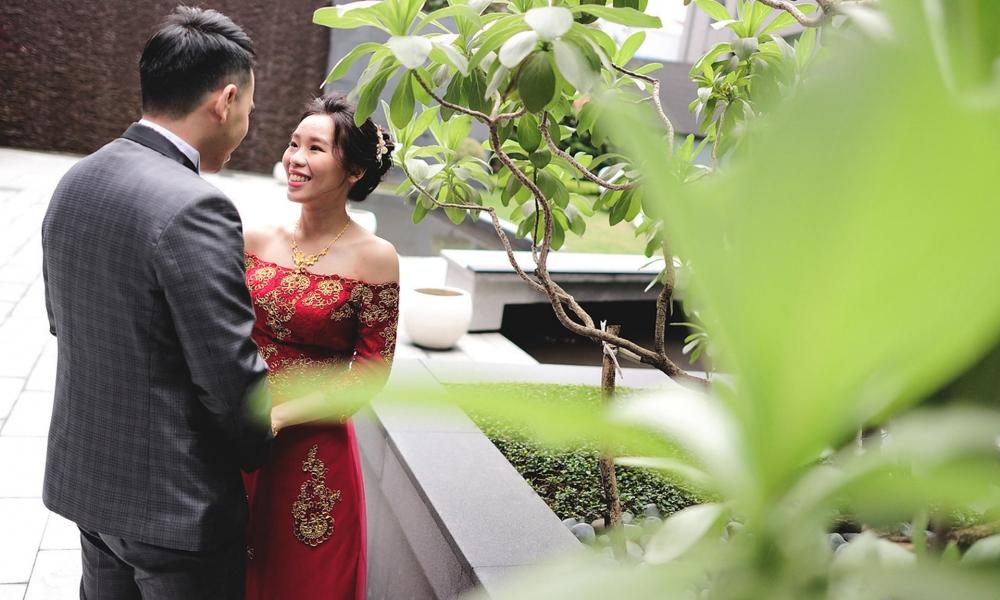 《新北婚攝》妳的笑容我的愛 / 白金花園酒店Platinum Hotel