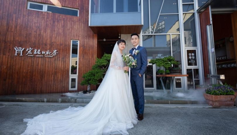 《彰化婚禮錄影》沉浸恩寵中的幸福 / 蘭大衛紀念教會