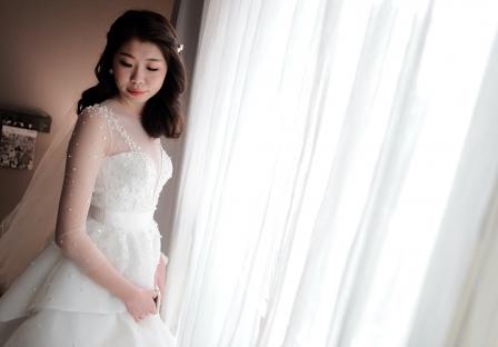 《台北婚禮錄影》難忘的幸福時刻~如此美麗 / 淡水富基