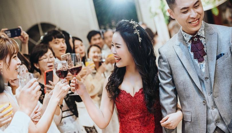 《台北婚禮錄影》被滿滿祝福包圍的我們 / 君品淡水嘉廬