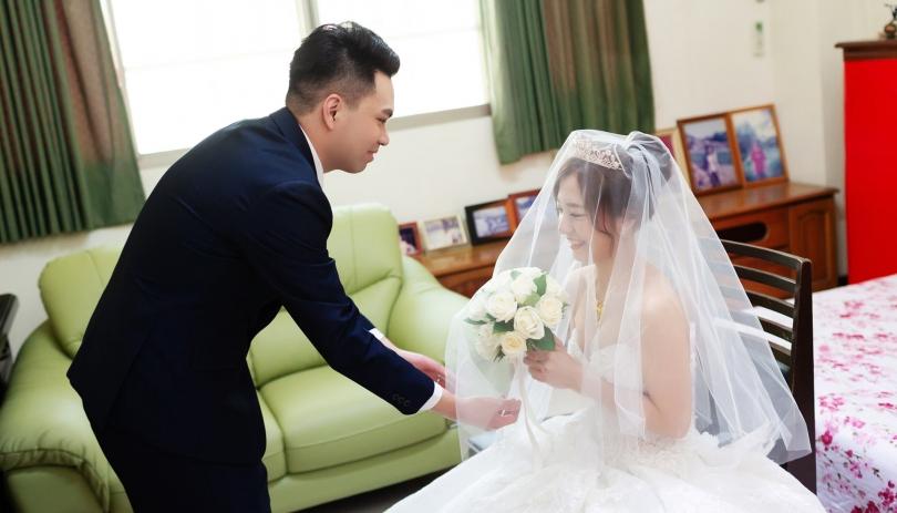 《台南婚攝》幸福的笑容就是甜 / 東東宴會式場永大幸福館