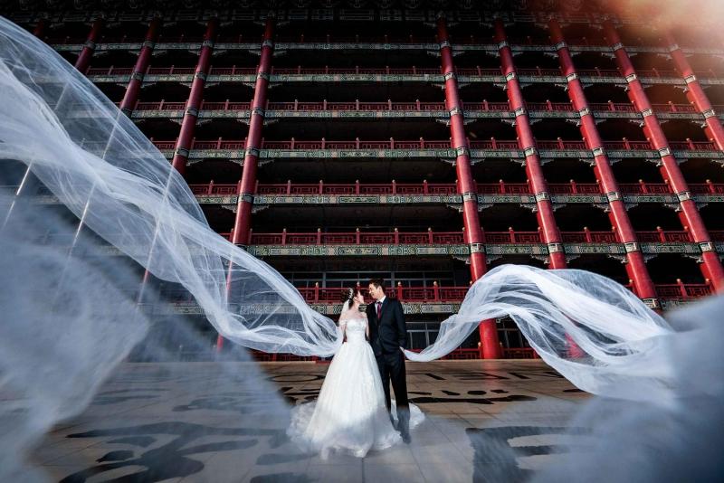 《台北婚攝》磅礡的絕美/ 台北圓山飯店