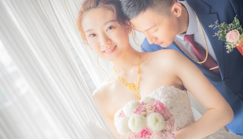《桃園婚攝》讓婚禮都是甜美的影像 /古華花園飯店