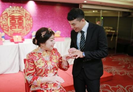 《台北婚攝》將愛,別在無名指上/神旺大飯店