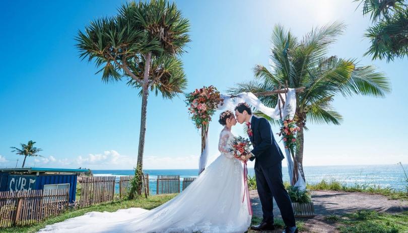 《台東婚攝》碧海藍天幸福伴/都蘭海角咖啡 Dulan Cape Café