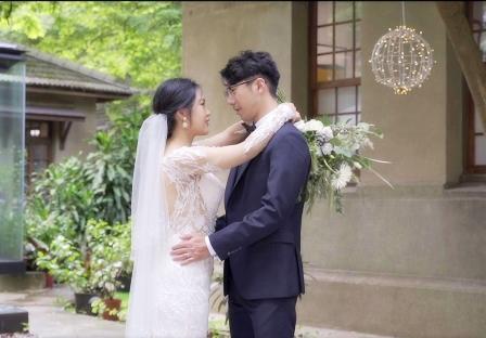 《台北婚禮錄影》姍姍來遲造就我倆的幸福 / 大院子(日本海軍招待所)