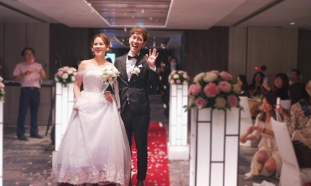 《台北婚禮錄影》上帝賜予的雙重幸福 /Regent Taipei 晶華酒店