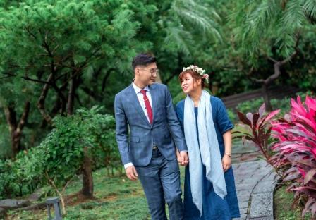 《台北婚攝》書香滿溢的幸福/鳳臨食養天地