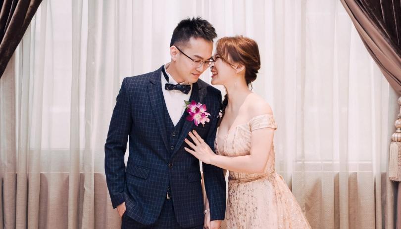 《台北婚攝》最甜的悄悄話/台北富信大飯店