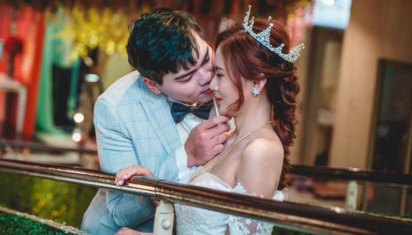《新北婚攝》嗨~我的摯愛我的妻我的心跳/彭園三重館