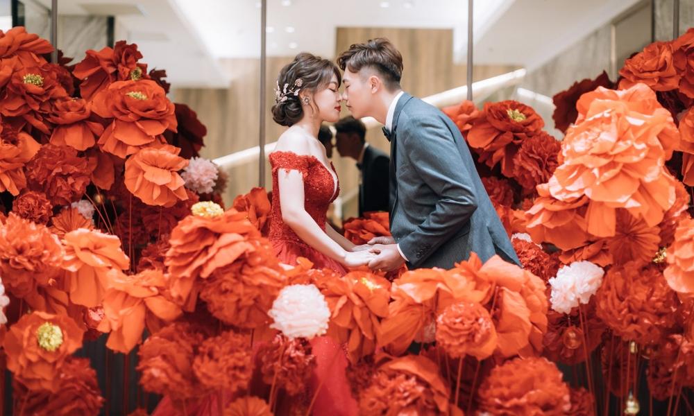 《新北婚攝》甜蜜簇擁的愛/天賜良緣大飯店