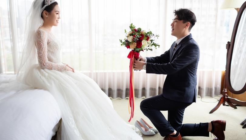 《台北婚攝》用愛交織成了幸福/台北晶華酒店