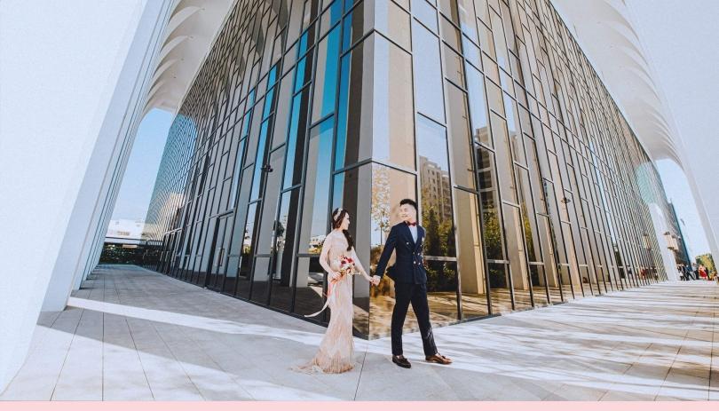 《彰化婚攝》幸福中的我們/皇潮鼎宴禮宴會館