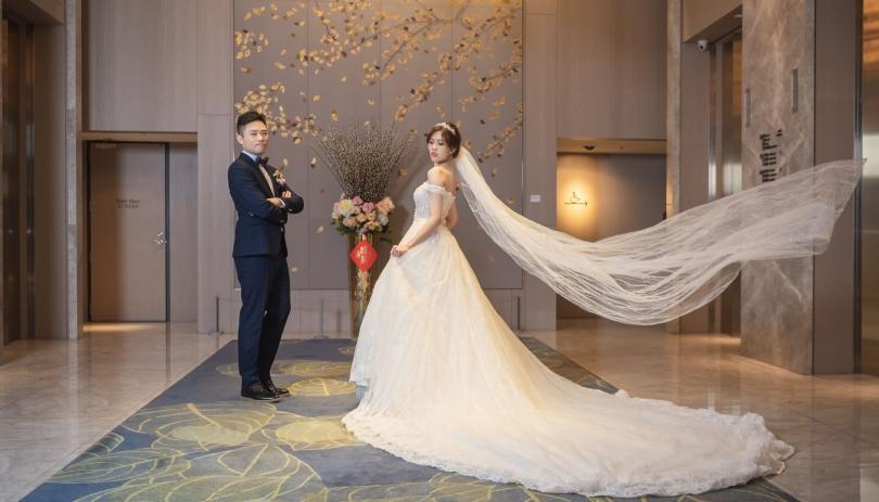 《台北婚攝》以愛化成了幸福的態樣/格萊天漾大飯店 Great Skyview